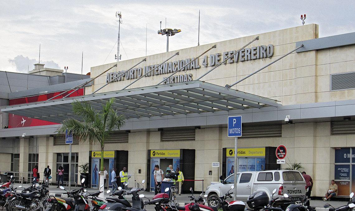 Aeroporto Luanda Chegadas : Brindando confianza itransporte