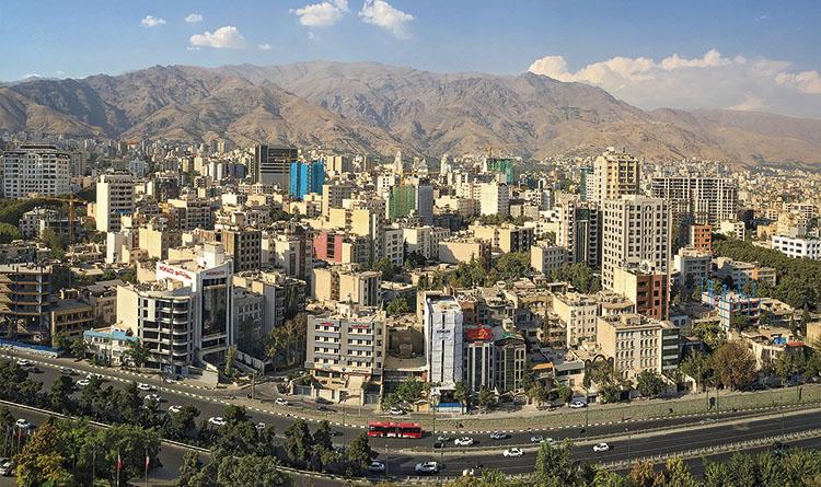 Vista de la ciudad de Teherán. / FOTO_HOOCHIE740_FLICKR
