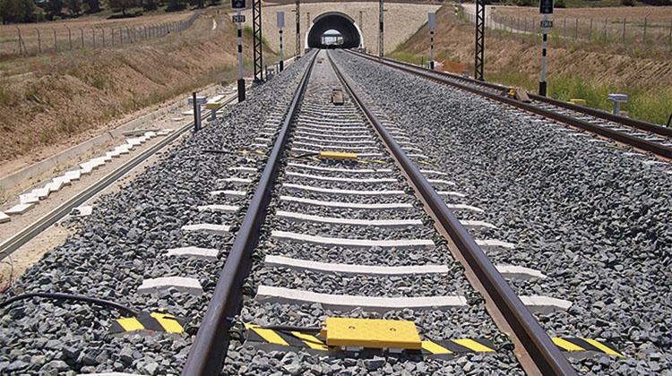 Balizas de ERTMS.