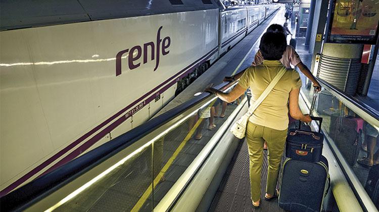 Tren AVE de Renfe. / ELVIRA VILA (EV)