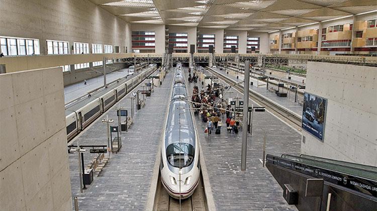 Estación de Zaragoza.